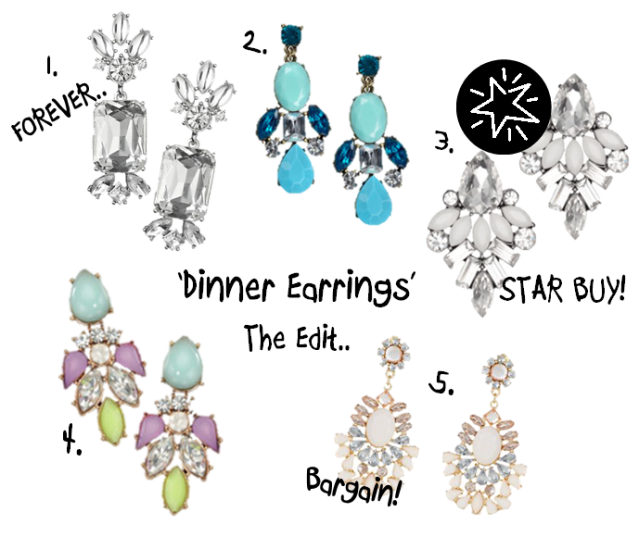 Dinner Earrings