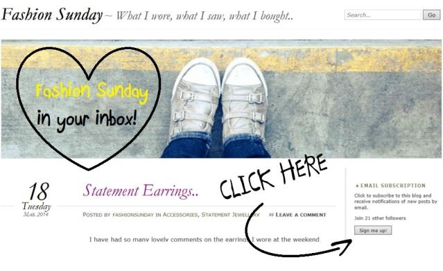 Fashion Sunday Blog