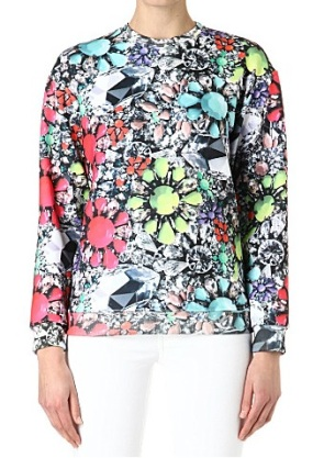 Neon Jewel Sweater Jaded London