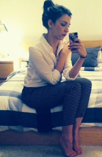 Topshop Checked Trouser