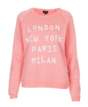 Topshop Cities Sweater